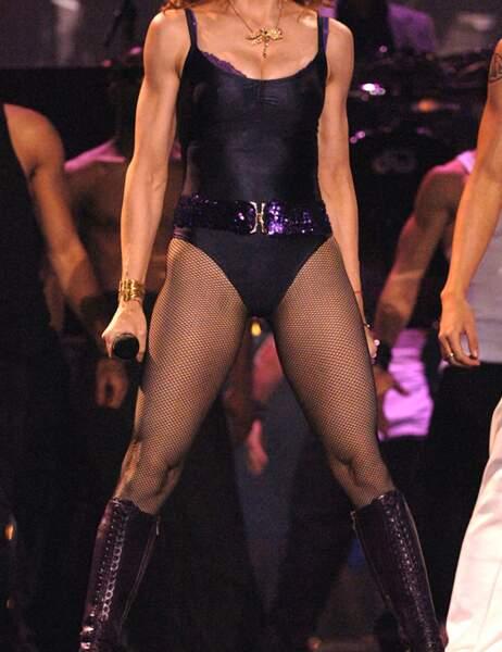 Le body lui va à merveilles, et ce n'est pas Lady Gaga, c'est bien sûr...