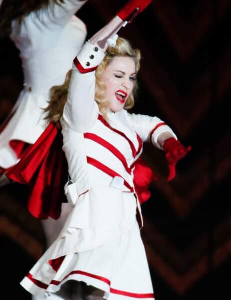 7ème place : Madonna