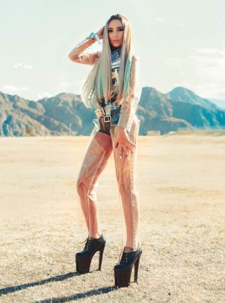 Les pires looks de la première semaine de Coachella : Megan Pormer