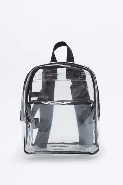 Urban outfitters mini sac à dos transparent 35€