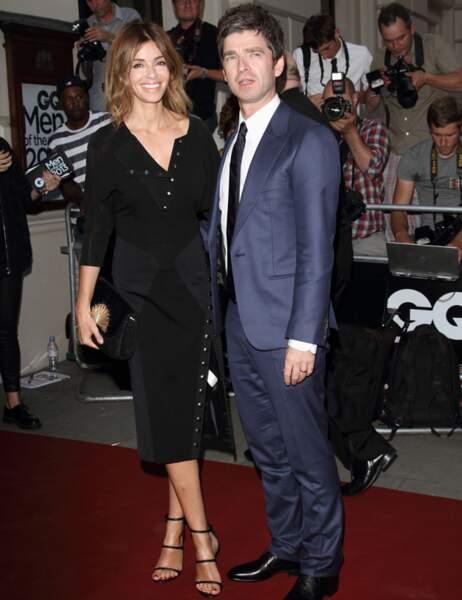 Noel Gallagher et sa femme Sara