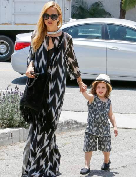 Et Rachel Zoe, la styliste des stars, n'est jamais en manque d'idées pour son fils Skyler