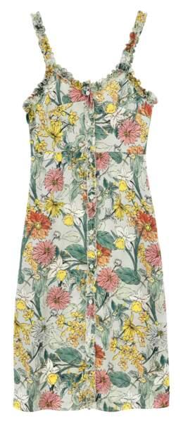 Molly Bracken. Robe à fleurs à fines bretelles, 44,95 €