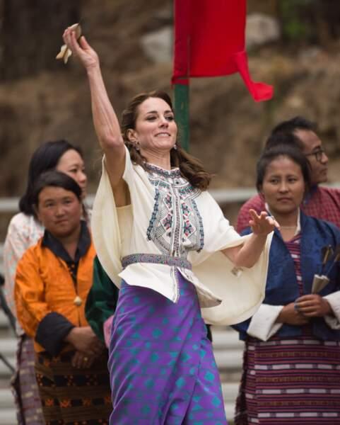 Kate Middleton est prête à tirer