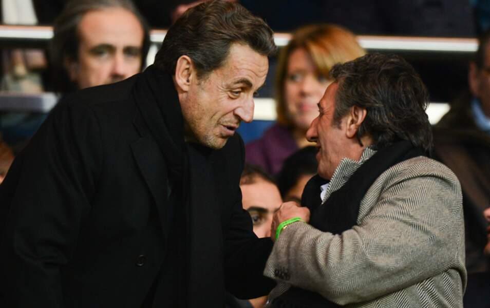 Nicolas Sarkozy et Richard Anconina