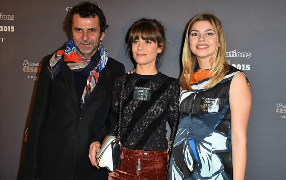 Eric Lartigau, Marina Foïs et Louane Emera