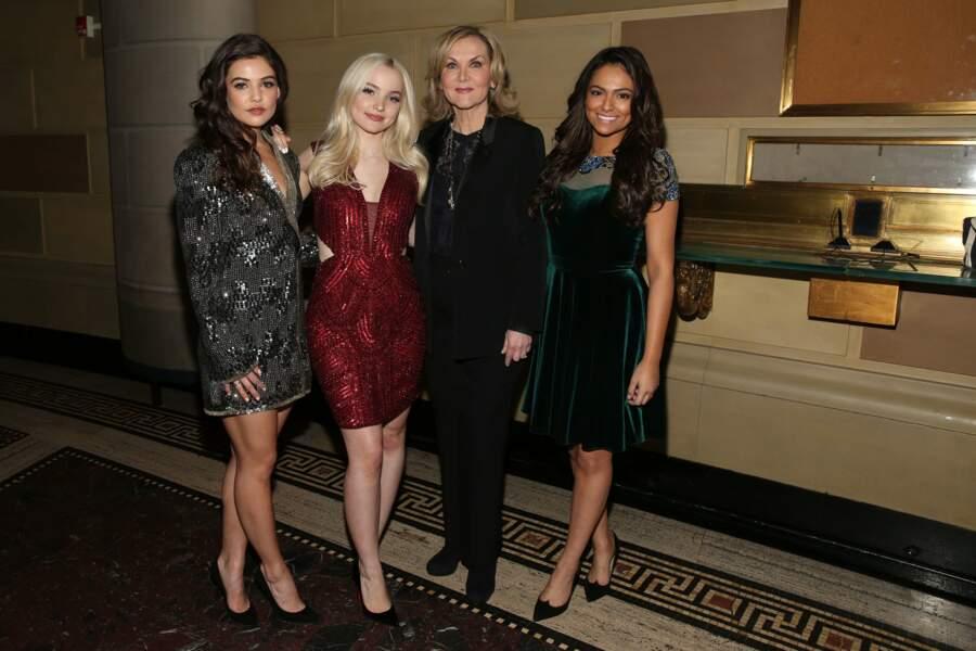 Défilé Sherri Hill : Danielle Campbell, Dove Cameron, Sherri Hill et Bethany Mota