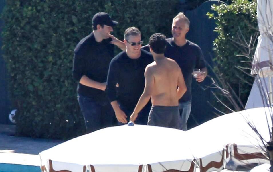 ... pressés de foncer à la piscine pour retrouver les copains