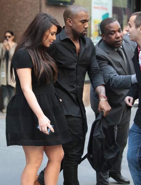 Jusqu'ici, elle et Kanye ne se doutent de rien