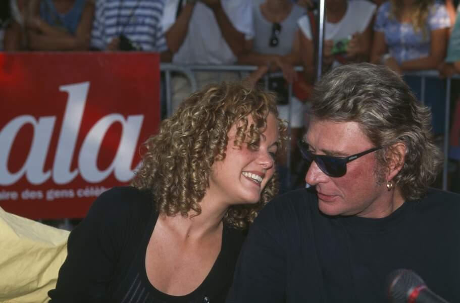 1995 : Laeticia et Johnny Hallyday au tout début de leur histoire d'amour