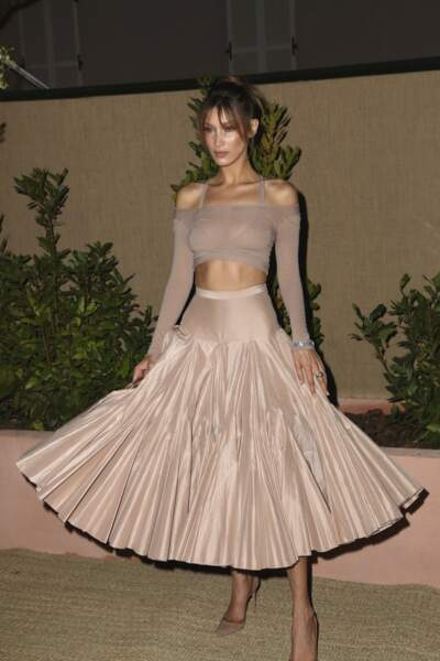 Bella Hadid au dîner Dior et Vogue lors du Festival de Cannes