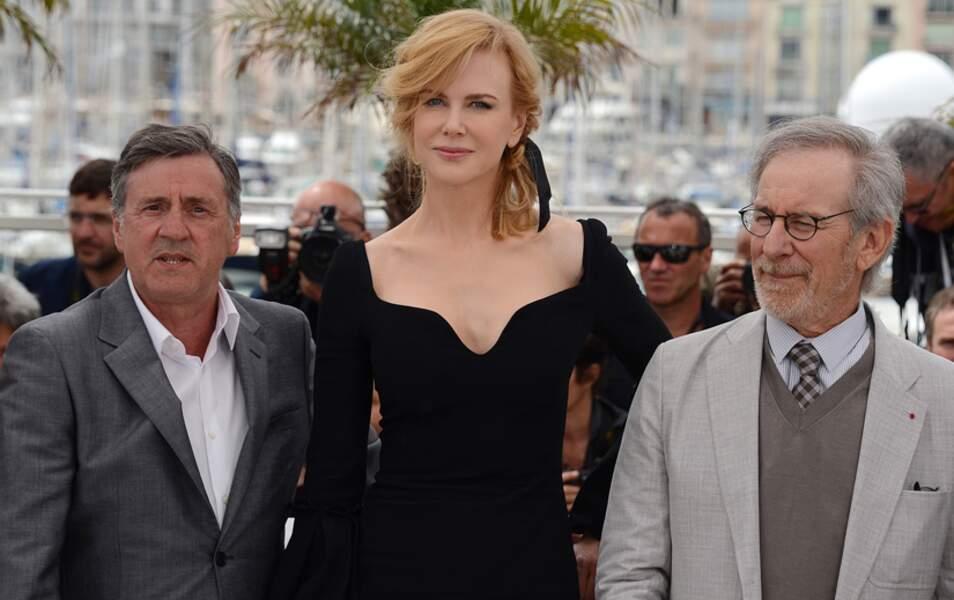 Daniel Auteuil, Nicole Kidman et Steven Spielberg