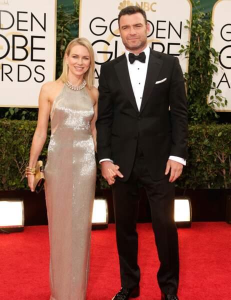 ... Naomi Watts (avec son compagnon Liev Schreiber)...