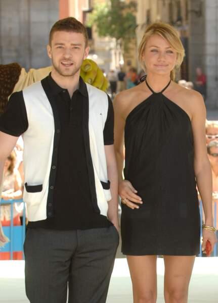 Justin Timberlake et Cameron Diaz en couple de 2003 à 2006