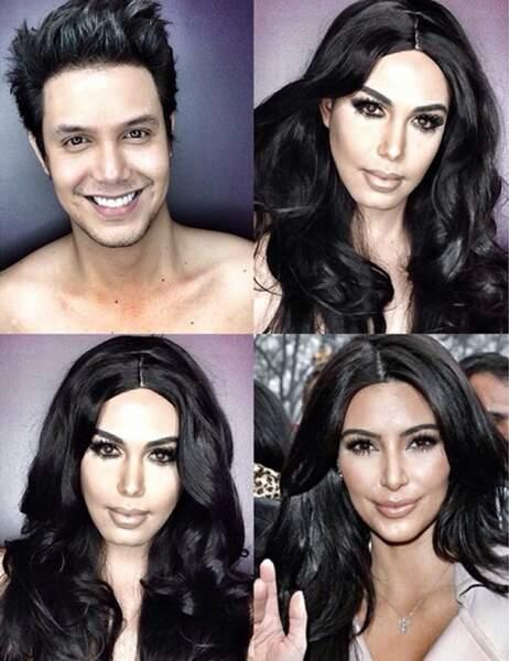 Paolo Ballesteros en Kim Kardashian