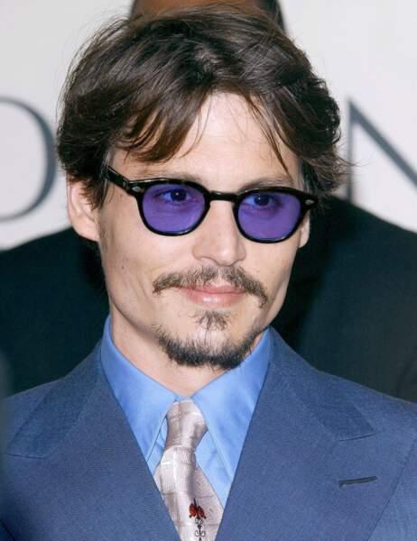 Johnny Depp en janvier 2005