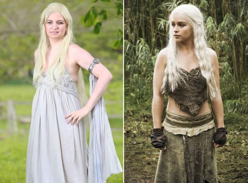 Samantha Halstead aime se transformer en Daenerys Targaryen