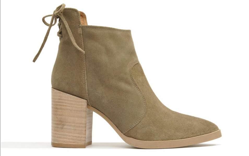 Boots Sarenza soldées 74,50€