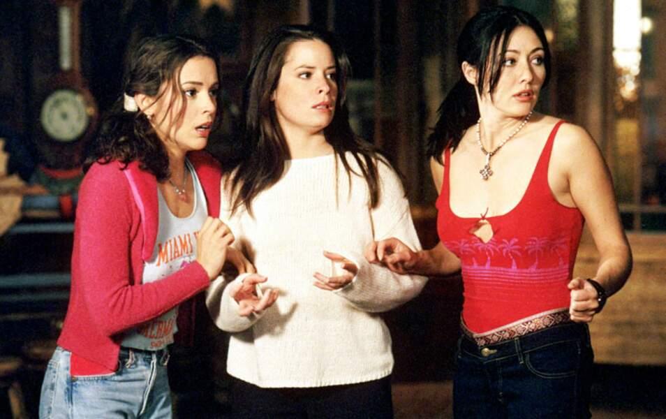 La série Charmed est fondée sur le pouvoir des trois