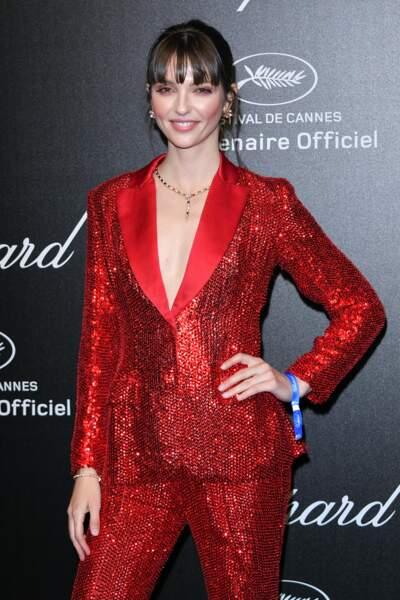 Annabelle Belmondo lors de la soirée Chopard organisée au festival de Cannes le 17 mai 2019
