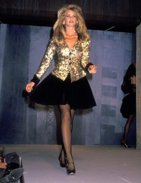Claudia Schiffer en 1991