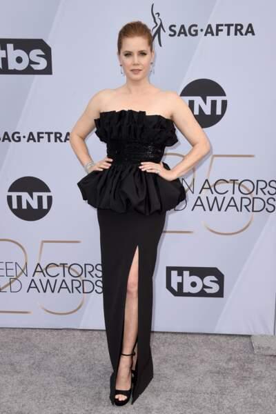 Amy Adams  aux SAG Awards 2019, le 27 janvier, à Los Angeles