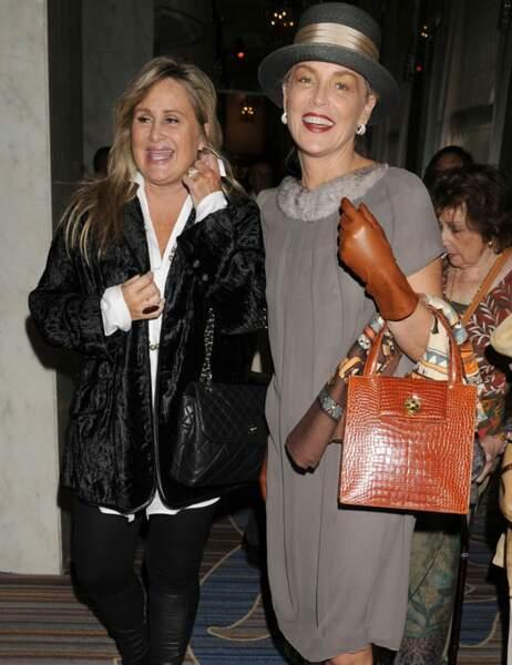 Sharon Stone et sa soeur Kelly
