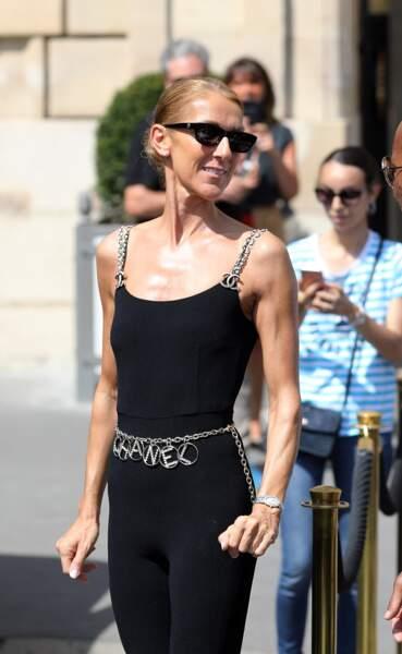 Celine Dion à Paris