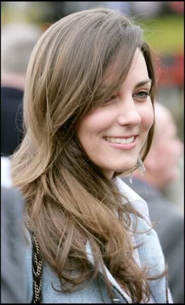 Kate Middleton en 2007