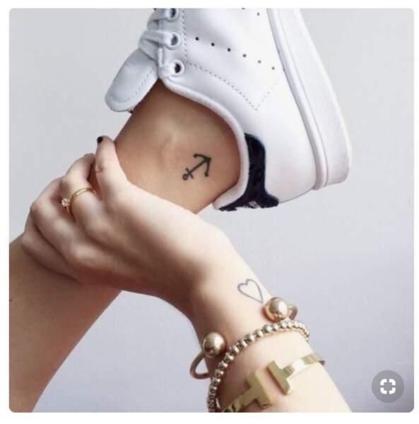 Les plus beaux tatouages ancre marine repérés sur Pinterest