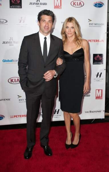 Ces stars de nouveau en couple après une rupture - Patrick Dempsey et sa femme Jill