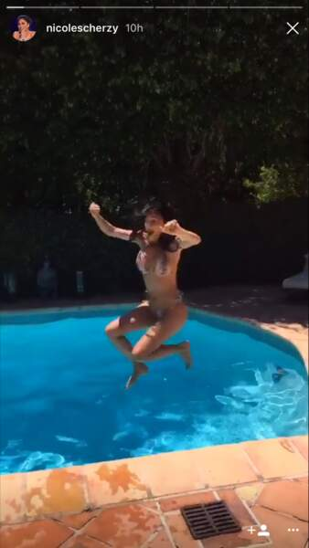 Nicole Scherzinger complètement déchaînée en bikini ultra sexy