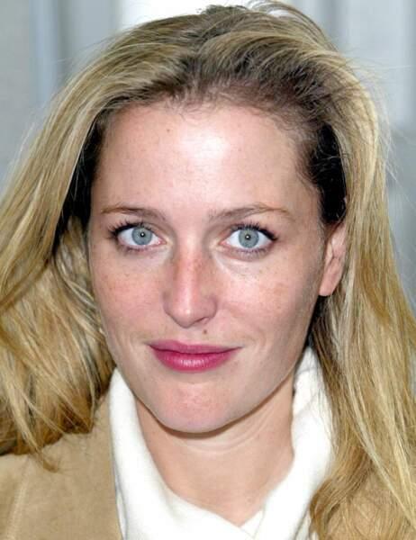 Gillian Anderson, lumineuse en 2003...