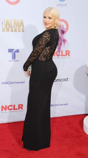 Avant-après ces stars qui ont perdu du poids - Christina Aguilera avant