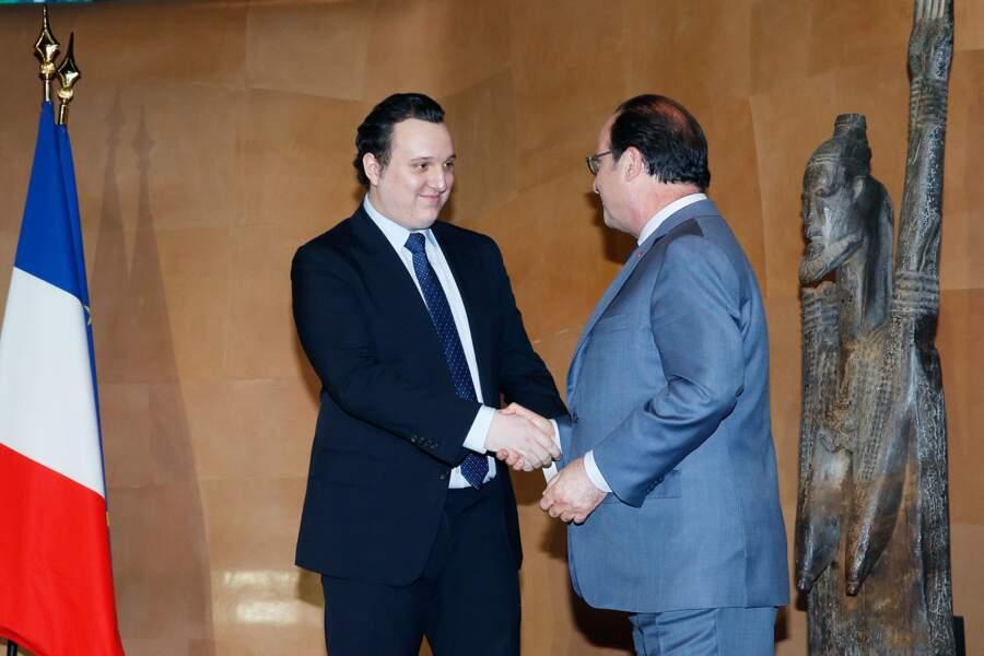 Martin Rey-Chirac a même pu le faire une deuxième fois au moment des discours