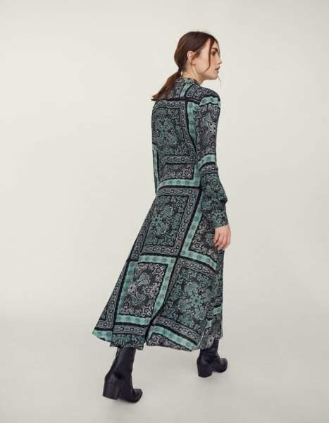 Robe longue, Stradivarius, 39,99€