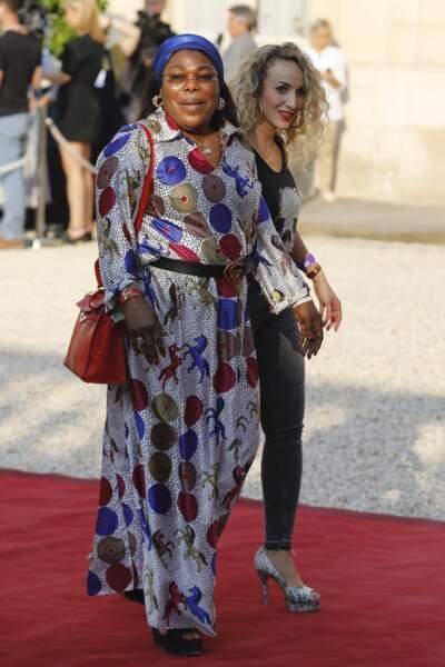 Les Bleus à l'Elysée  : Yeo Moriba et Maria Salaues, la mère et la compagne de Paul Pogba