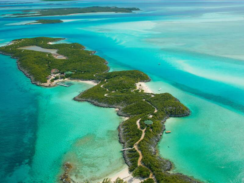 Little Hall's Pond Cay, l'île de Johnny Depp, aux Bahamas