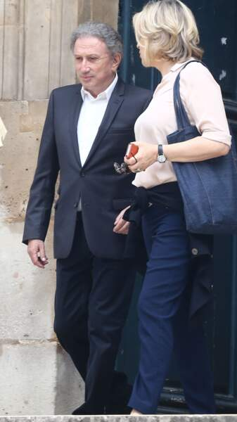Michel Drucker et Laurence Piquet