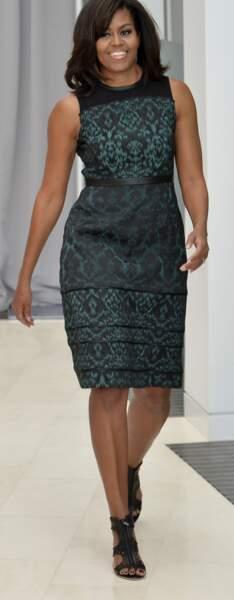 Michelle Obama en Tanya Taylor