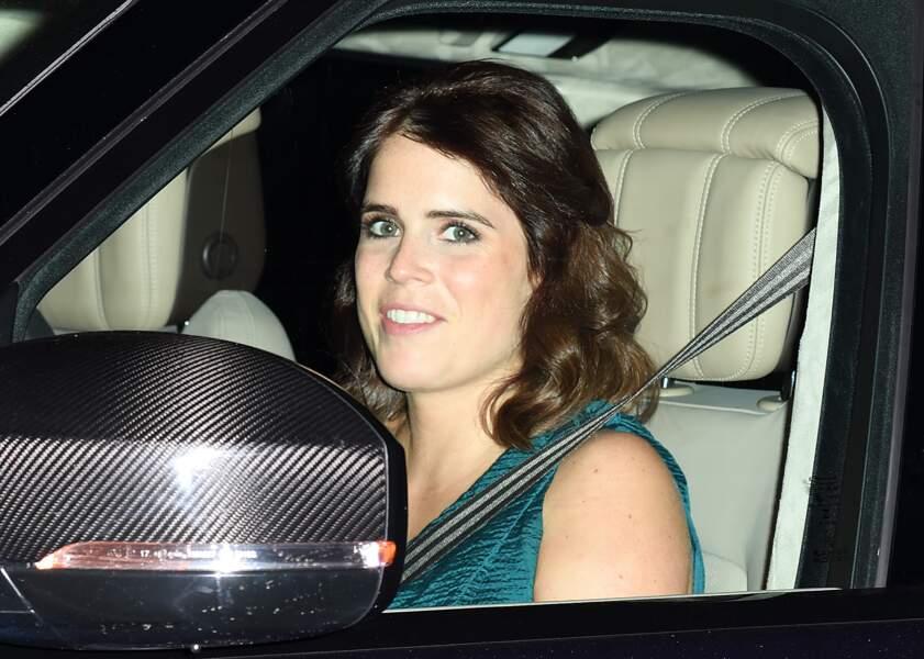 La princesse Eugenie à l'anniversaire du prince Charles