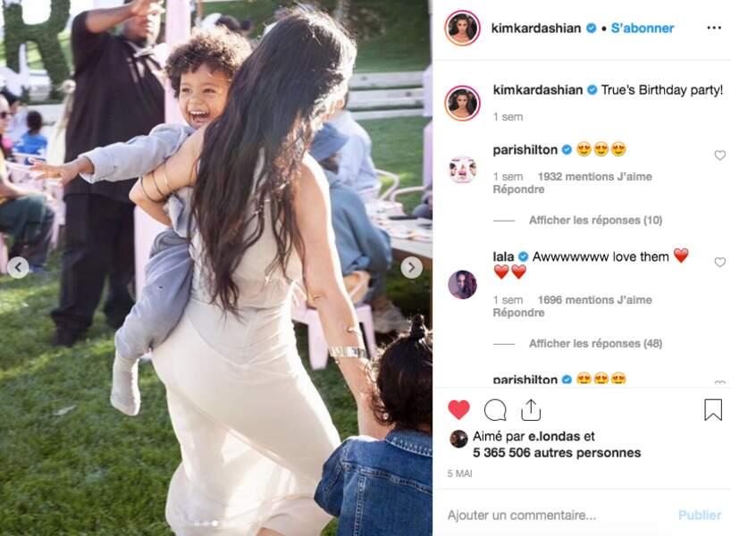 Kim Kardashian et Saint West