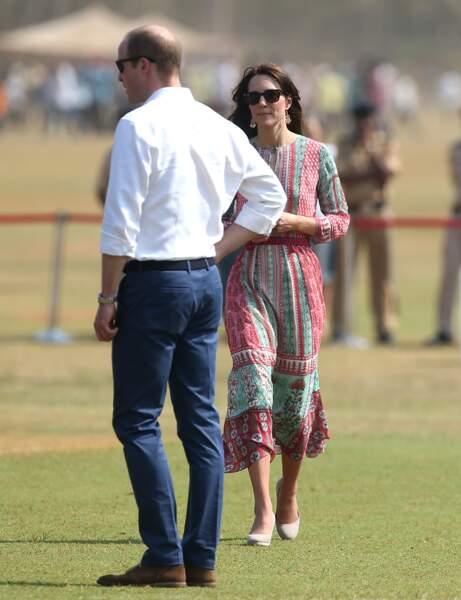Une fois arrivés sur un terrain de cricket, ce fut une autre histoire...