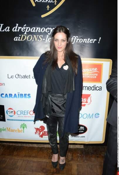 Léa Castel en 2015