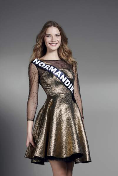 Miss Normandie : Esther Houdement – 20 ans