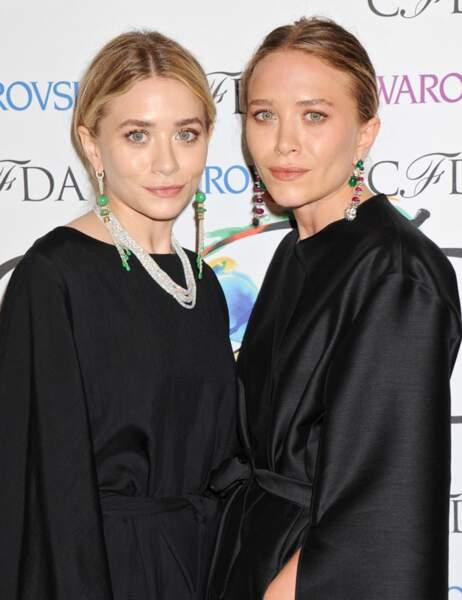 Les jumelles Mary-Kate et Ashley Olsen, qui ont abandonné la comédie pour se consacrer à leur passion, la mode