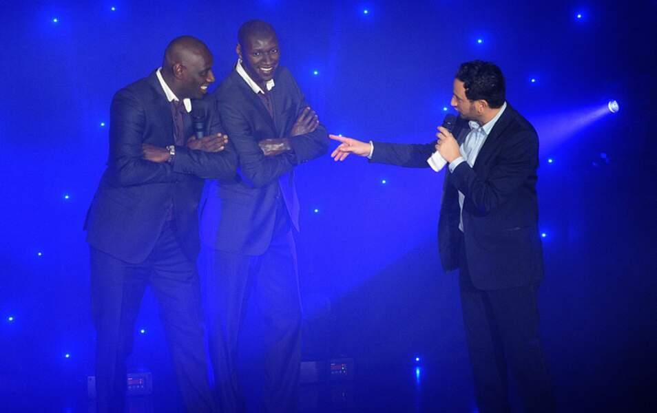 Omar Sy et Cyril Hanouna