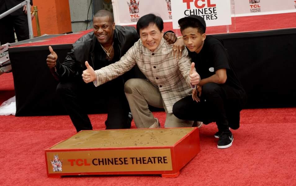 Chris Tucker, Jackie Chan et Jaden Smith