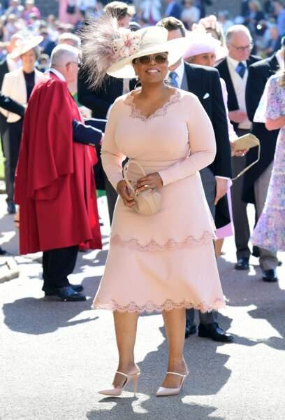 Oprah Winfrey au mariage d'Harry et Meghan