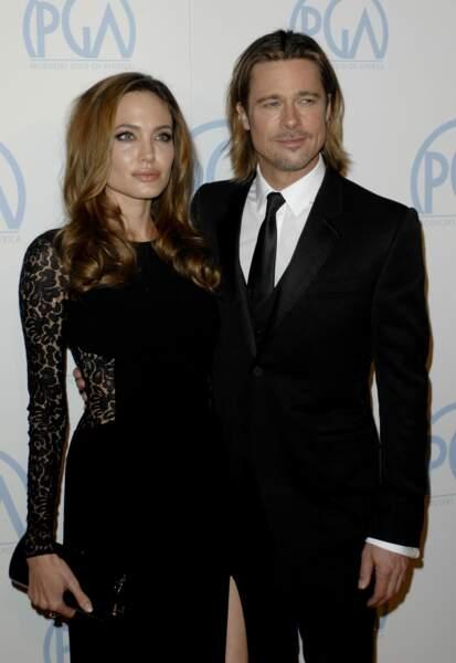Ces stars parents de jumeaux : Angelina Jolie et Brad Pitt